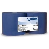 """Celtex mėlynas pramoninis valomasis popierius """"Blue Wiper"""", 35112, 1 rul."""